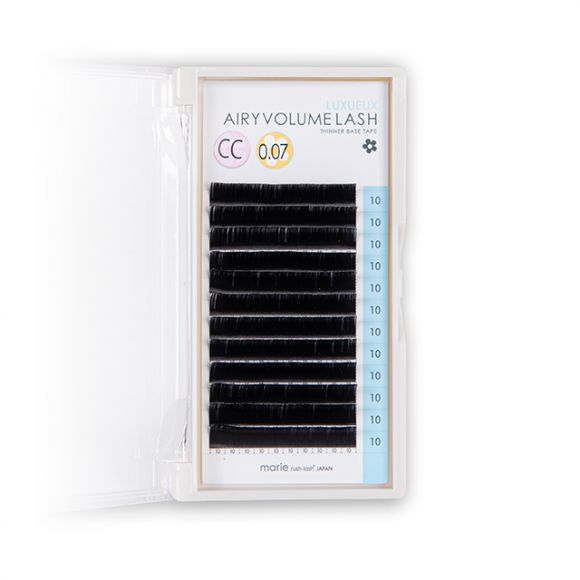 Airy 볼륨 래쉬 Luxueux L+ 0.07 × 10mm