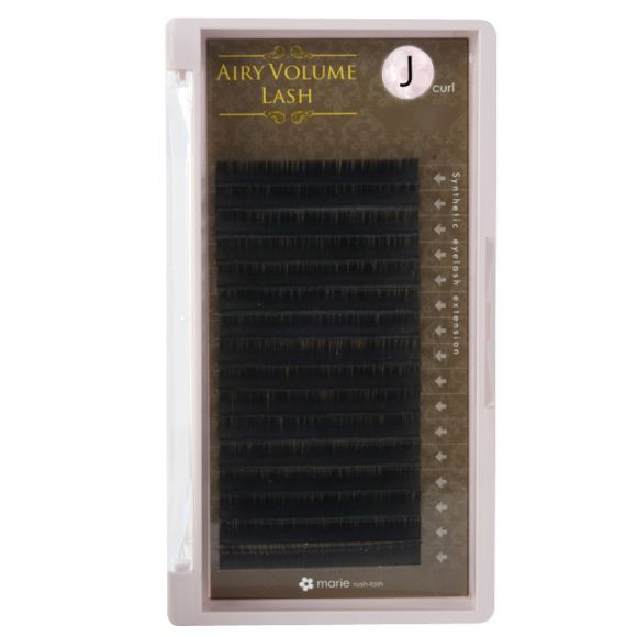 Airy 볼륨 래쉬 J 0.08 × 12mm