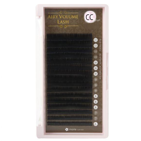Airy 볼륨 래쉬 CC 0.08 × 6-12mm Mix