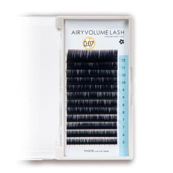에어리 볼륨 래쉬 J컬 두께0.07mm  길이5-12mm