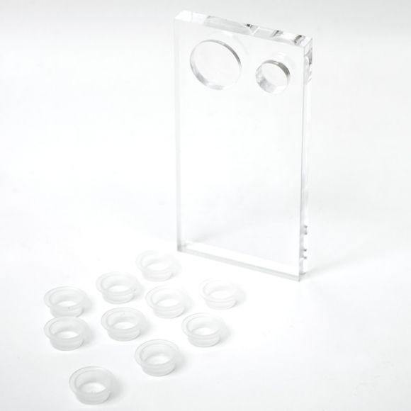 래쉬 플레이트 (글루 컵 10개 포함)