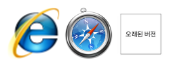 not recommended browsers
